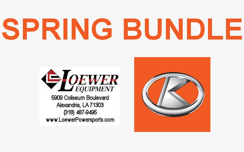 Spring Bundle at Loewer Equipment!