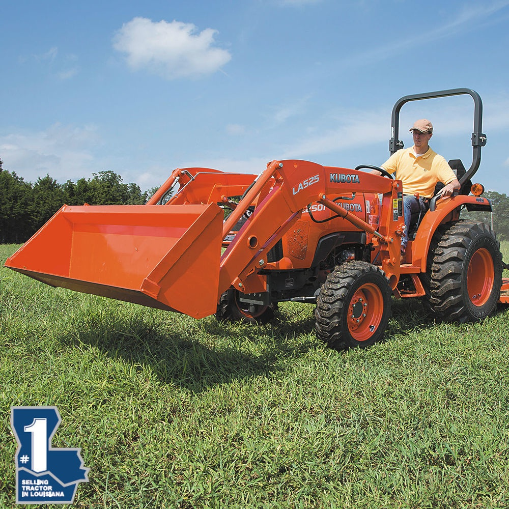 Loewer Price on Kubota L2501DT + LA525FL Front Loader
